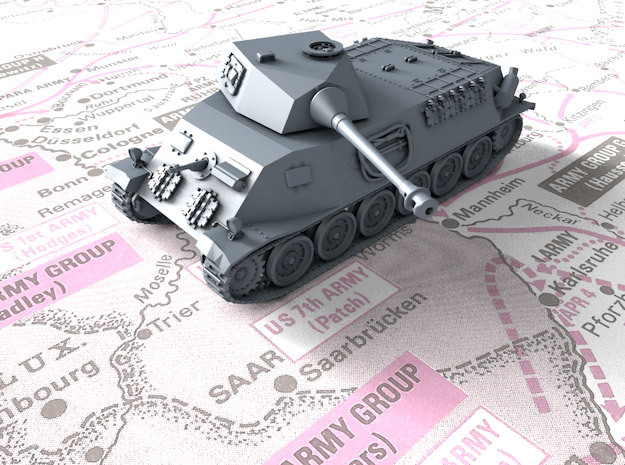 1/72 Czech Škoda T 24 Medium Tank in Smooth Fine Detail Plastic
