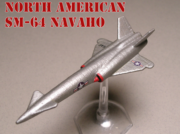 North American SM-64 Navaho 1/285 6mm (no booster) in White Natural Versatile Plastic