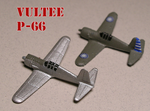 Vultee P-66 Vanguard 1/285 6mm Frosted Ultra in Smooth Fine Detail Plastic