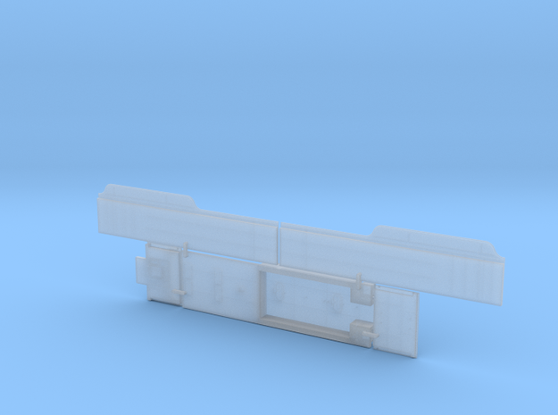 ATSF TENDER,15000 gallon, flat/parts in Smoothest Fine Detail Plastic