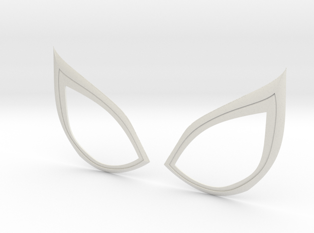 Insomniac Spiderman Lenses (opened) in White Natural Versatile Plastic