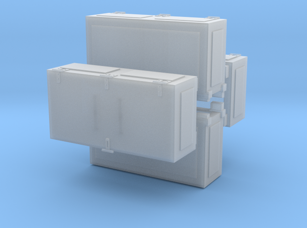 Ammoboxes for Quad Flak 1 zu 35 20170814 in Frosted Ultra Detail