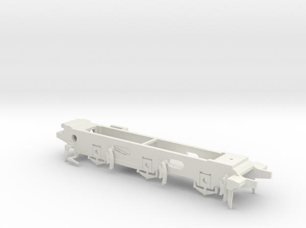 7mm - LB&SCR E2  - 0 Chassis in White Natural Versatile Plastic