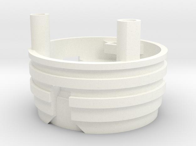 MPP-SpeakerHolder in White Strong & Flexible Polished