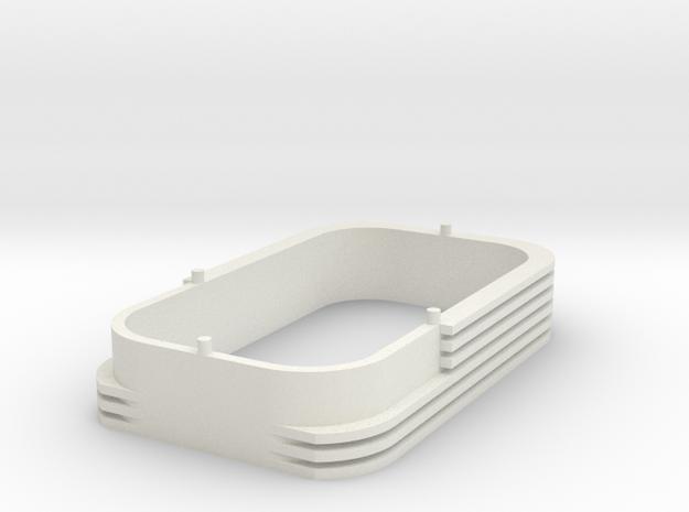 Soufflet Eurostar Voiture Secable HO in White Natural Versatile Plastic