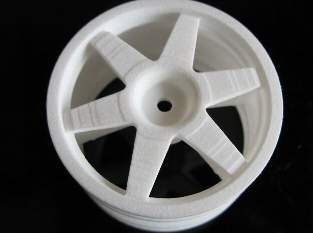 0444094 or 0444122 Tamiya 1/8 TGX wheels Qty 4 3d printed Add a caption...