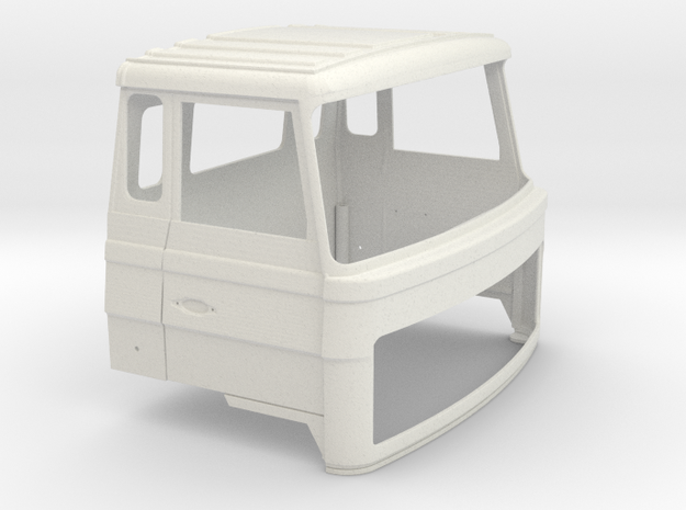 FTF cabine 1 op 24 in White Natural Versatile Plastic