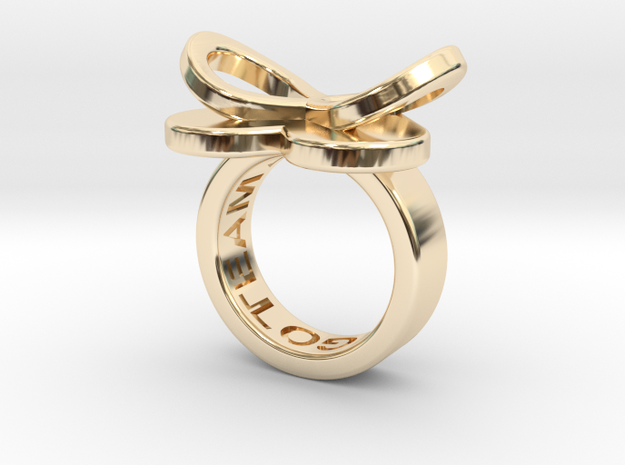 AMOUR petite in 14k gold plated in 14k Gold Plated: 3 / 44