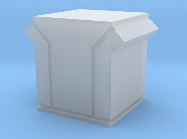Dachlüfter 3 modern 1:120 in Smooth Fine Detail Plastic