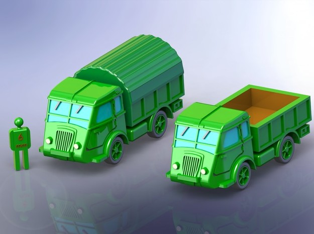 French Renault AGP GS Truck 1/144