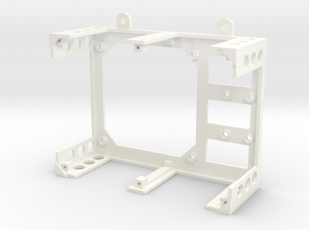 Water Leak Detector chassis in White Processed Versatile Plastic