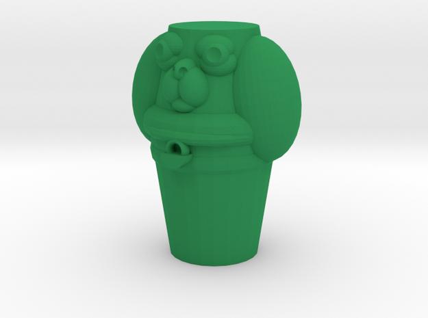 Pupper Stopper I in Green Processed Versatile Plastic