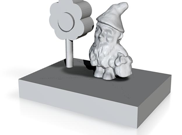 Gnomes Garden 3d printed