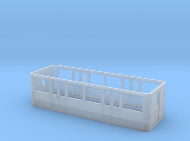 Metro Sprague Caisse Remorque pour B-Train Shorty in Smoothest Fine Detail Plastic