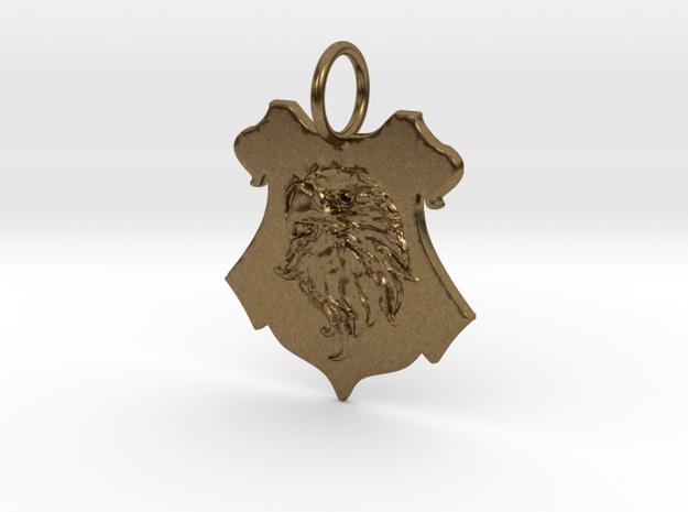 Ravenclaw Eagle Crest in Natural Bronze