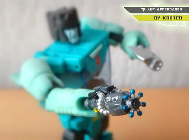 TR Kup Arm Upgrade Set C in White Strong & Flexible Polished