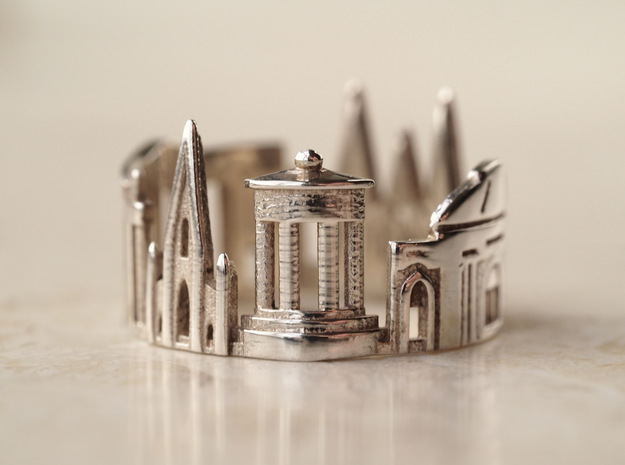 Edinburgh Cityscape - Skyline Ring