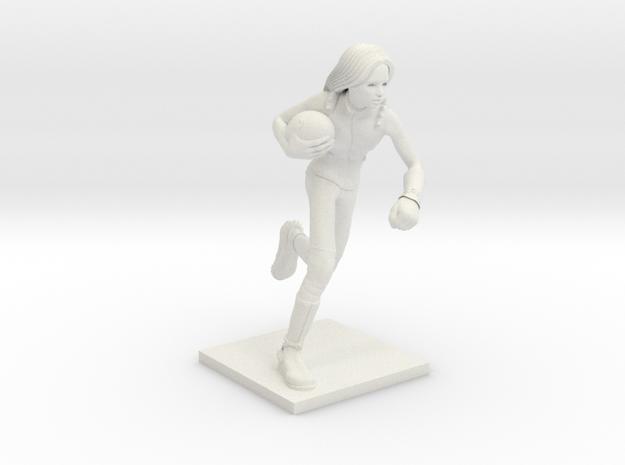 Darkelves 01 - Runner in White Natural Versatile Plastic