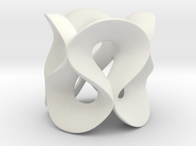 Loop in White Natural Versatile Plastic