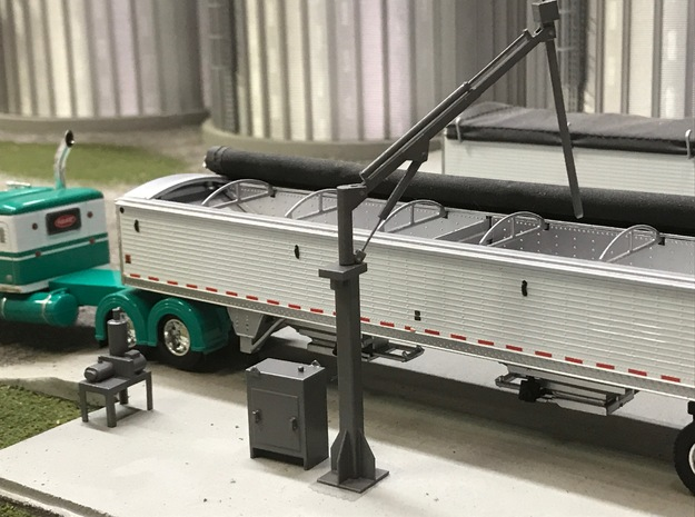 1/64 scale truck grain probe in Smooth Fine Detail Plastic