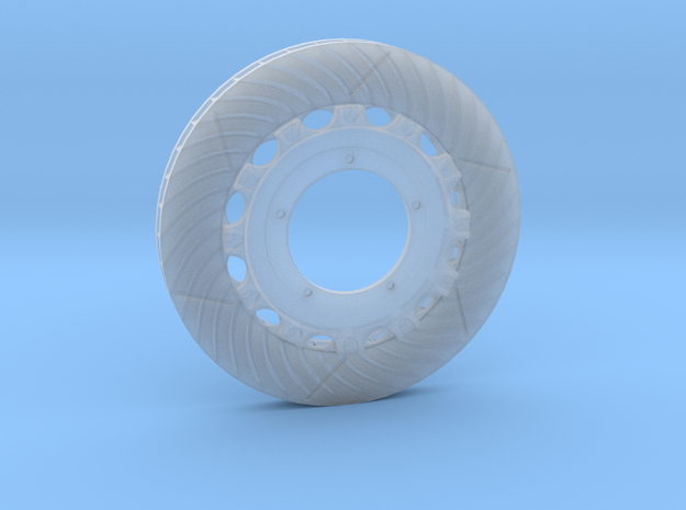 14 Inch Right Rotor / With Hub in Frosted Extreme Detail