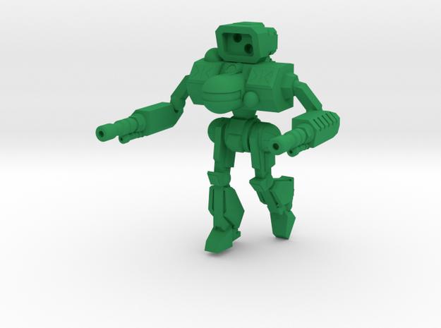 Black Fang Combat Walker -  6mm in Green Processed Versatile Plastic