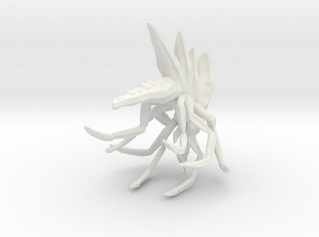 Chopper Bug 8 in White Natural Versatile Plastic