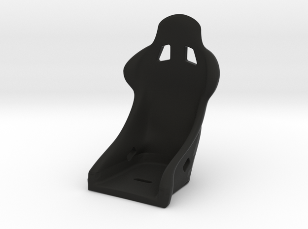 Race Seat  SRev.2 Type  - 1/10 in Black Natural Versatile Plastic
