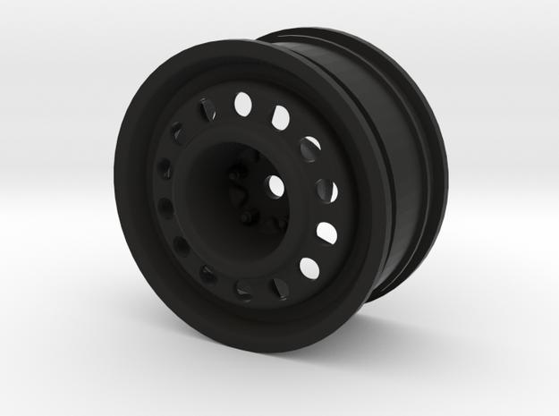 """1.9"""" Steelie Wheel (26mm Wide / 6mm offset) in Black Strong & Flexible"""