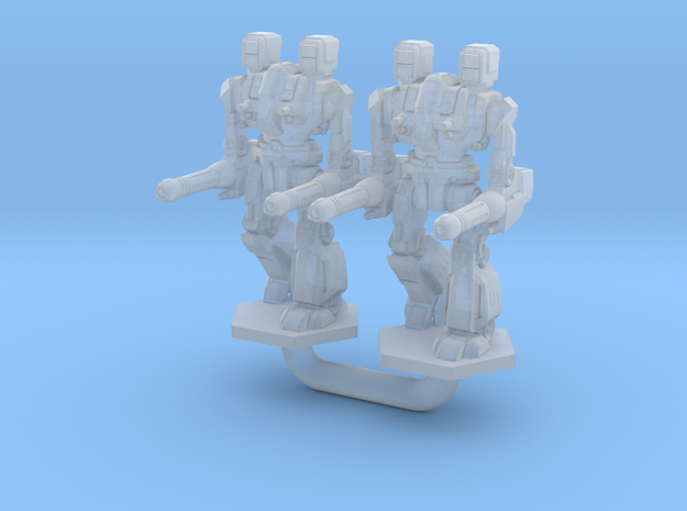 Maul Type Combat Walker 2X - 3mm in Frosted Ultra Detail