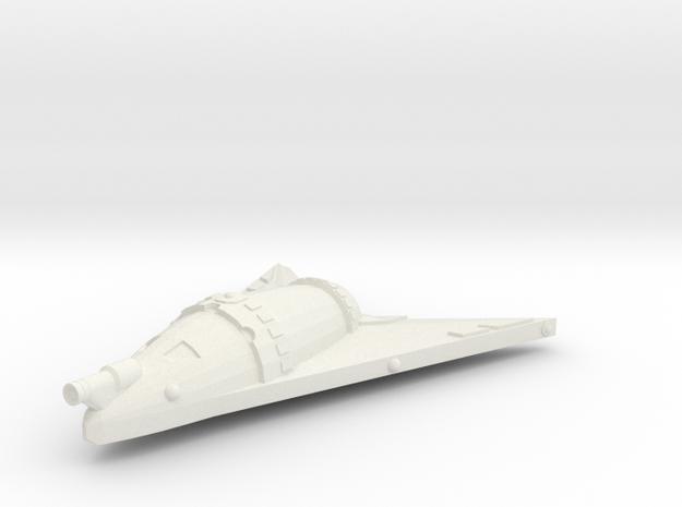3788 Scale Hydran Cuirassier Frigate GLP in White Natural Versatile Plastic