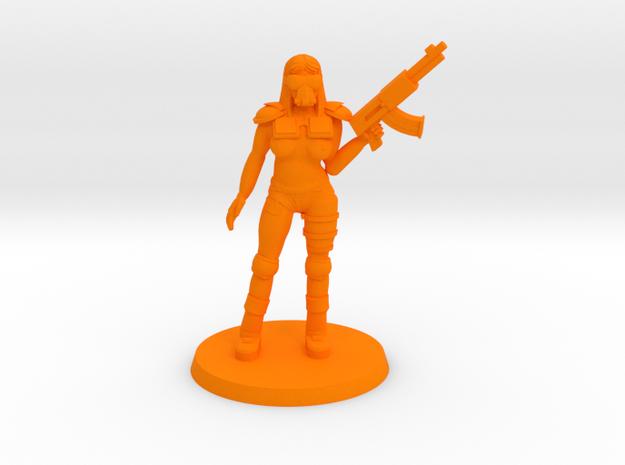NSFW Raider Kathy in Orange Processed Versatile Plastic