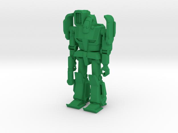 Gryphon Type Combat Walker - 6mm in Green Processed Versatile Plastic