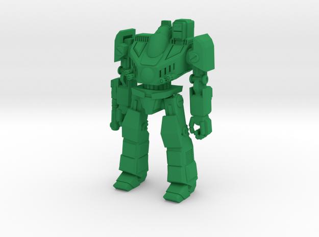 Cadmus Type Combat Walker - 6mm in Green Processed Versatile Plastic