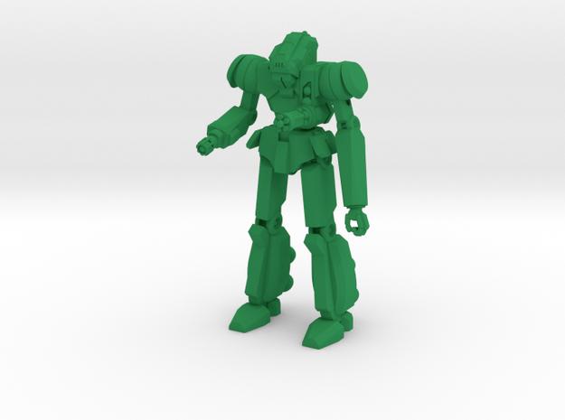 Róta Type Combat Walker - 6mm in Green Processed Versatile Plastic