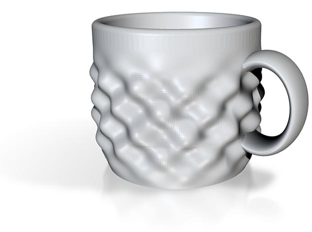 Sine Wave Espresso Cup 3d printed