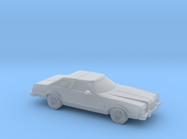 1/120 1X 1977 Ford Thunderbird in Frosted Ultra Detail