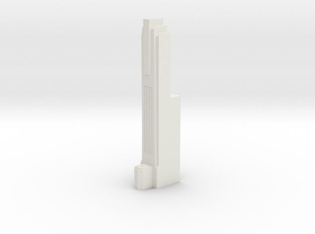 Triple Underpass East Roadway Pillar in White Strong & Flexible