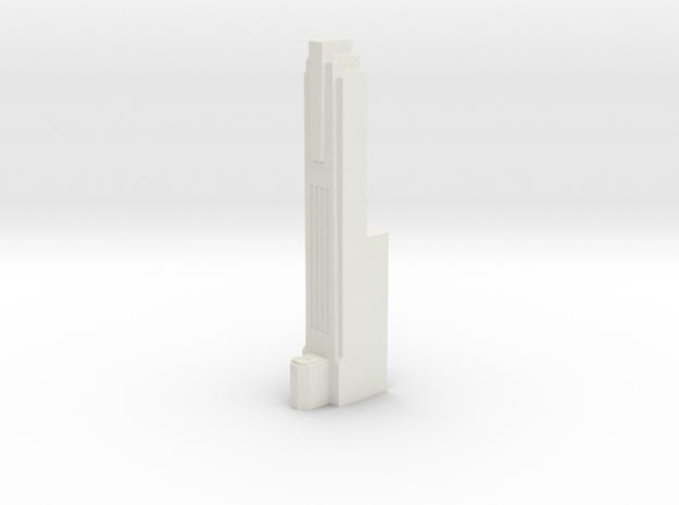 Triple Underpass West Roadway Pillar in White Strong & Flexible