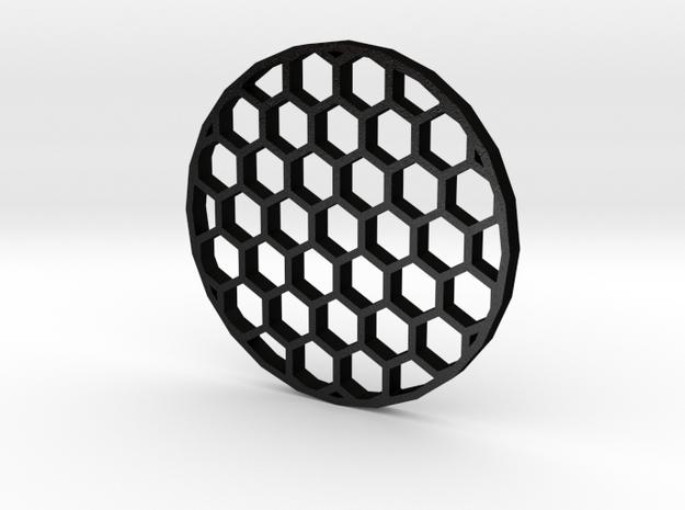 44mm Honeycomb Kill Flash (Stainless Steel) in Matte Black Steel