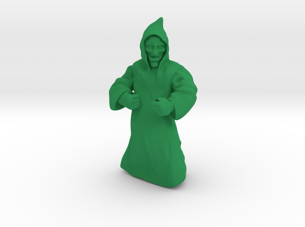 Blood Cultist in Green Strong & Flexible Polished