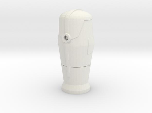 1/60 Bornes d'incendie / Fire hydrant in White Natural Versatile Plastic