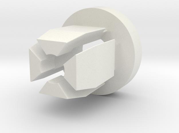 Cagiva Elefant Fuse Cap Clip in White Strong & Flexible