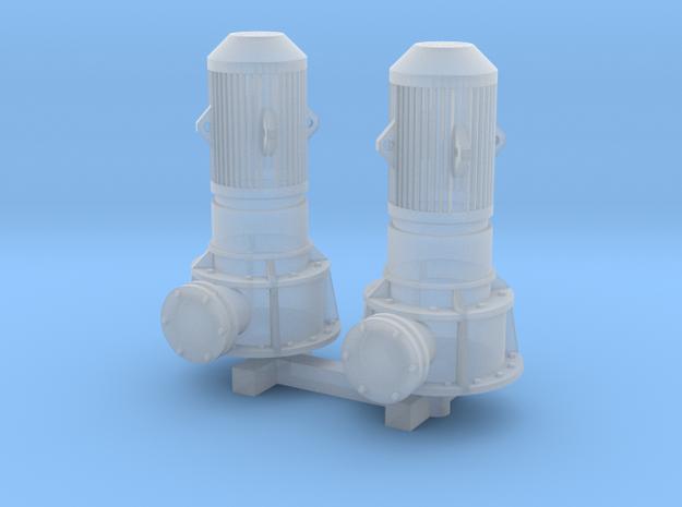 N Scale Vertical Pump 2pc