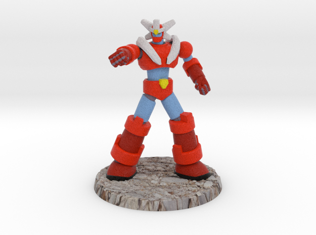 Big Science Retro-Mecha - 6mm Scale, with Base