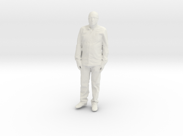 Printle C Homme 098 - 1/43.5 - wob in White Natural Versatile Plastic