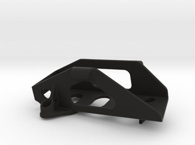Vaterra Twin Hammers 3S Battery Holder in Black Strong & Flexible