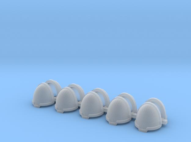 Blank chevron rimmed Shoulders - Rebuilt 008a
