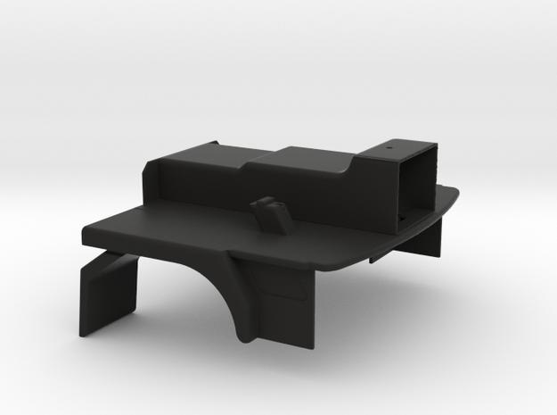 Bodemgroep slaapcabine 1 op 24 in Black Natural Versatile Plastic