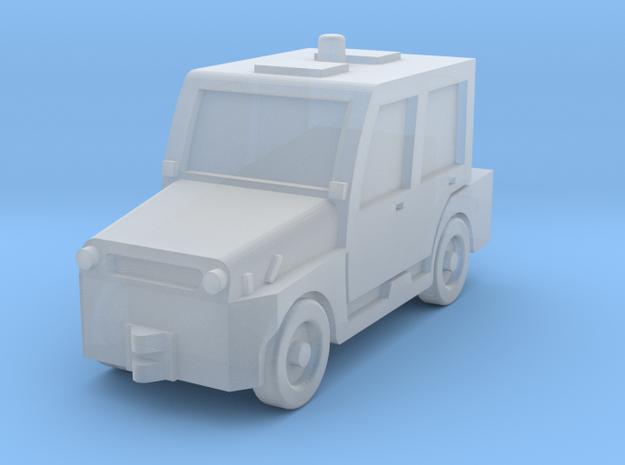 Comet4DK tractor in Smoothest Fine Detail Plastic: 1:400